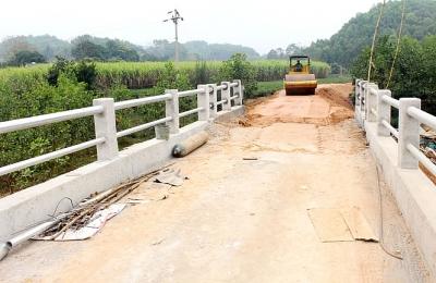 Thái Nguyên: Xây dựng giao thông nông thôn ở Đại Từ