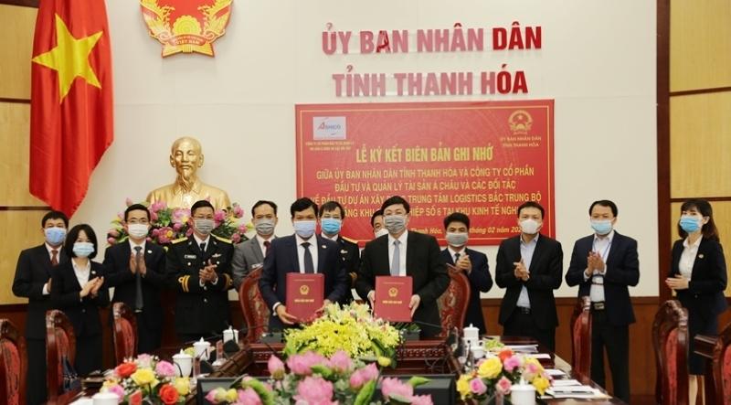 UBND tỉnh Thanh Hoá ký kết biên bản ghi nhớ với các nhà đầu tư