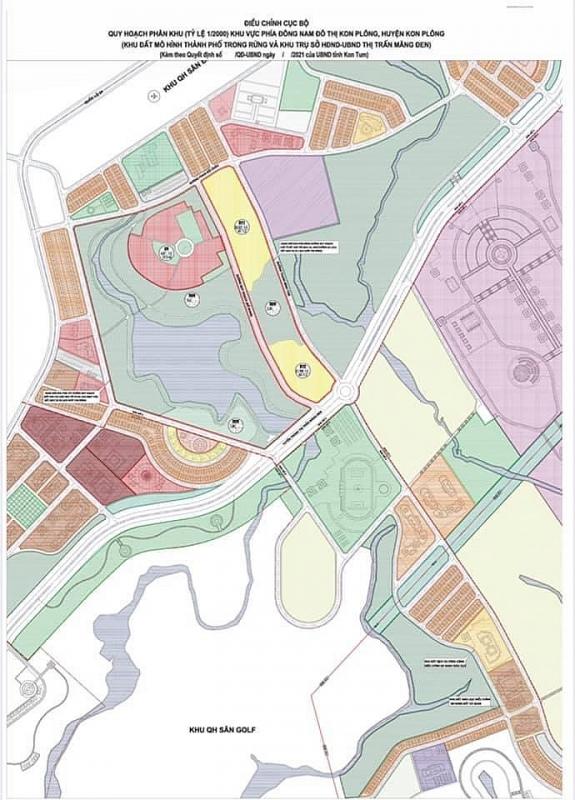 Điều chỉnh cục bộ Đồ án Quy hoạch phân khu thị trấn Măng Đen