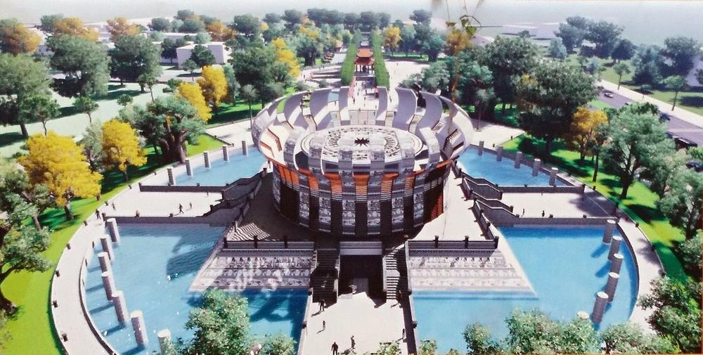 Cần Thơ: Tăng tốc xây dựng Đền thờ vua Hùng