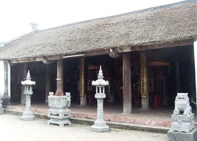 Hà Nội: Đình Nội Xá tang hoang không cửa