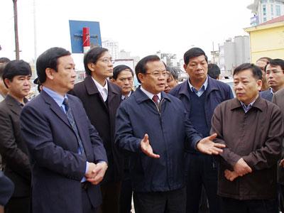 Hà Nội: Sẽ nhìn vào diện mạo của tuyến phố  để chấm điểm cán bộ lãnh đạo quận