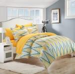 20 bộ chăn ga gối đệm tông vàng tươi trẻ và ấm áp cho phòng ngủ của bạn.