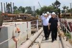 Phó Thủ tướng thị sát các công trình kết nối Mekong