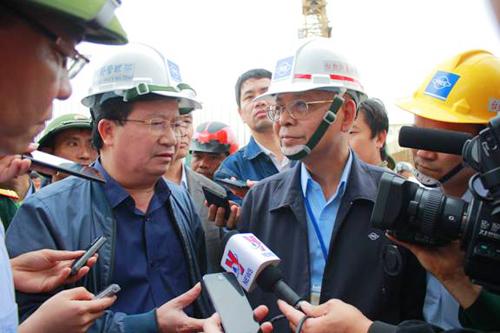 Bộ trưởng Trịnh Đình Dũng: Không để nhà thầu có năng lực yếu, kém vào thi công tại Vũng Áng