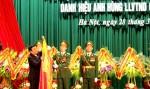 Lực lượng Dân quân tự vệ Việt Nam đón nhận Huân chương Sao vàng