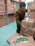 Phát hiện hàng nghìn sản phẩm có dấu hiệu giả mạo ở cửa hàng Xuân Thủy