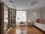 Căn hộ 35 m2 dành cho những người thích đọc sách