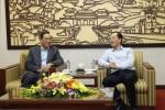 Bộ trưởng Phạm Hồng Hà tiếp Bộ trưởng Bộ Công chính và Vận tải Lào Bounchanh Sinthavong