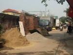 Tình trạng vi phạm trật tự đô thị trên đường Hồng Hà: Dẹp rồi lại phát