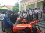 Quảng Trị: Giới thiệu sản phẩm mới phục vụ nông nghiệp nông thôn