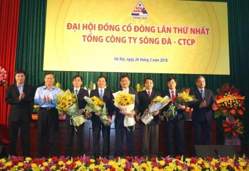 Tổng Cty Sông Đà chính thức chuyển đổi sang mô hình Cty cổ phần