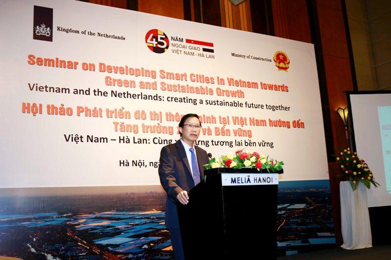 Việt Nam - Hà Lan: Hợp tác phát triển đô thị thông minh