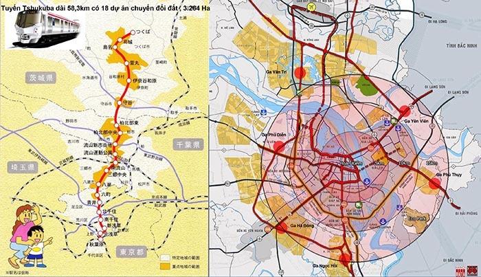 Mở đường tàu điện: Kéo dân lên Sơn Tây mua đất giá rẻ