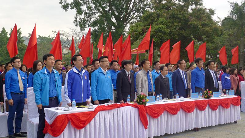 Tuổi trẻ Bộ Xây dựng khởi động Tháng Thanh niên 2019 và trồng cây tại Khu di tích Pác Pó, Cao Bằng