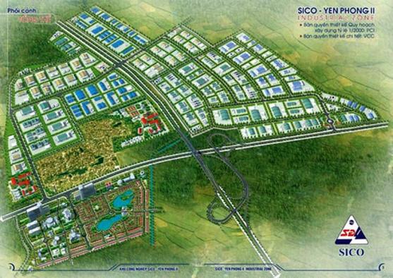 Bắc Ninh: Phê duyệt Đồ án Quy hoạch chung xây dựng KCN Yên Phong II
