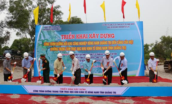 Quảng Trị: Số dự án đầu tư tương ứng với số năm tái lập lại tỉnh