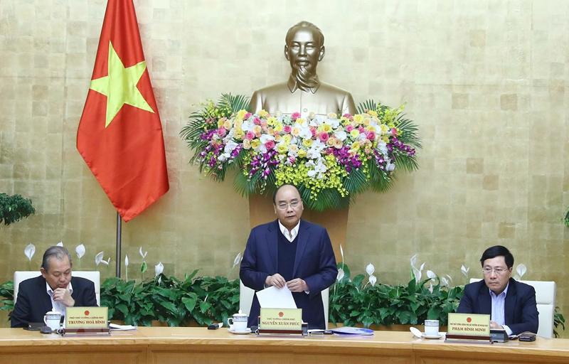 Thủ tướng chủ trì phiên họp của Chính phủ chuyên đề xây dựng pháp luật