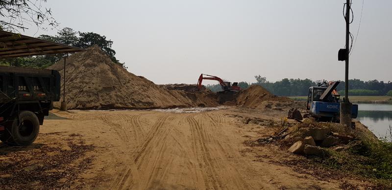 Thừa Thiên - Huế: Quy định về quản lý các bến, bãi tập kết vật liệu xây dựng