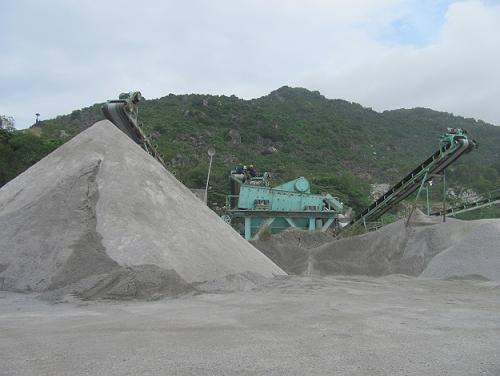 Hướng dẫn nhà đầu tư sản xuất cát nhân tạo để thay thế nguồn cát tự nhiên