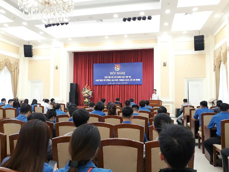 Tuổi trẻ Bộ Xây dựng học tập và làm theo tư tưởng, đạo đức, phong cách Hồ Chí Minh