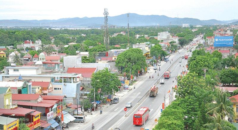 Bộ Xây dựng cho ý kiến về đề án đề nghị công nhận huyện Tĩnh Gia đạt tiêu chí đô thị loại IV