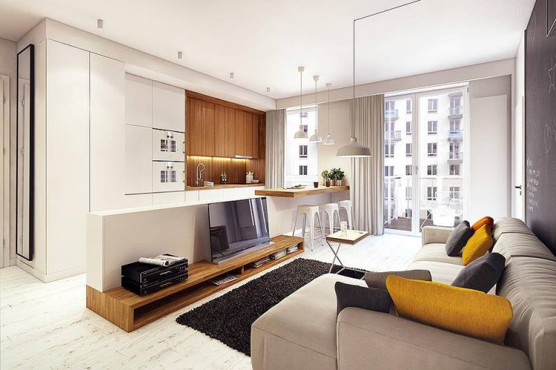 """""""Mẹo"""" thiết kế và thi công nội thất căn hộ nhỏ"""
