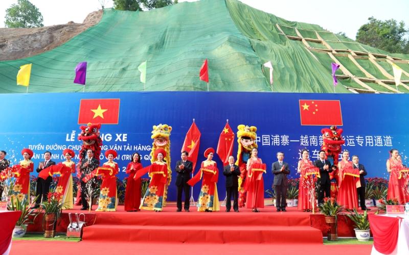 Thông xe tuyến đường chuyên dụng vận chuyển hàng hóa Tân Thanh - Pò Chài