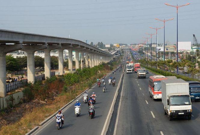 TPHCM tạm ứng hơn 2000 tỷ đồng cho tuyến metro số 1