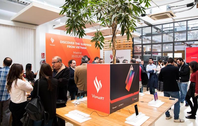 Vsmart chính thức được bán tại thị trường Tây Ban Nha