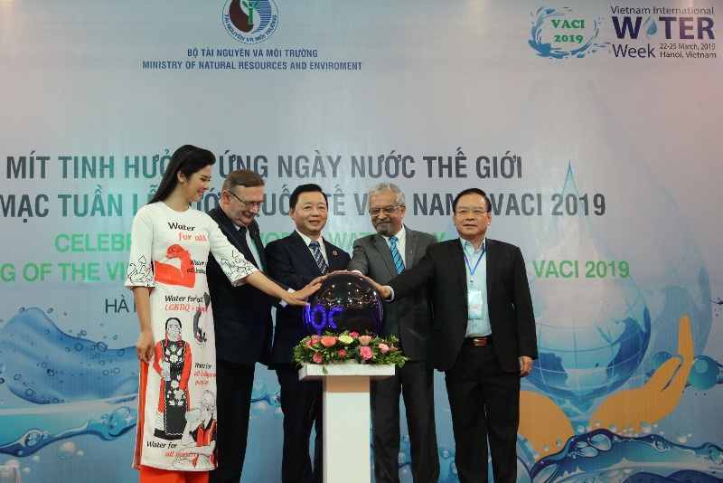 Khai mạc Tuần lễ Nước quốc tế Việt Nam - VACI 2019