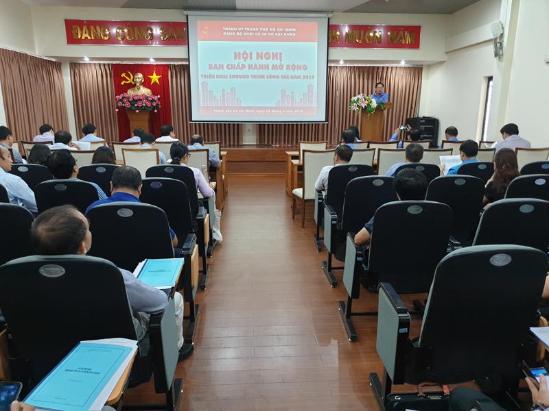Đảng ủy Khối cơ sở Bộ Xây dựng: Tổng kết công tác năm 2018 và triển khai nhiệm vụ năm 2019