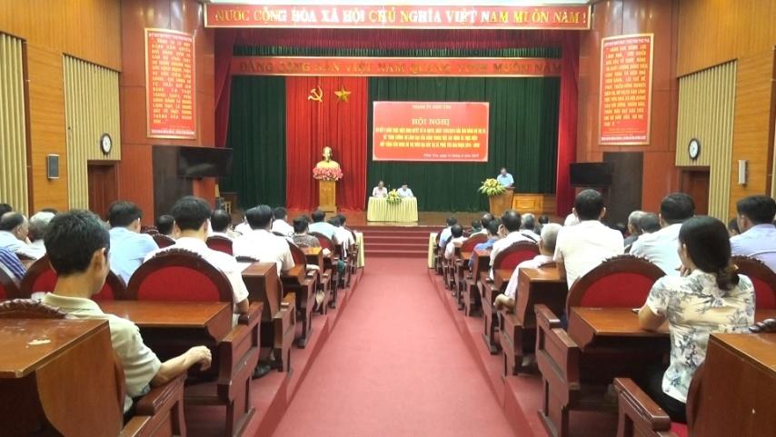 Vĩnh Phúc: Thành ủy Phúc Yên tăng cường công tác xây dựng Đảng, hoàn thành xuất sắc nhiệm vụ được giao