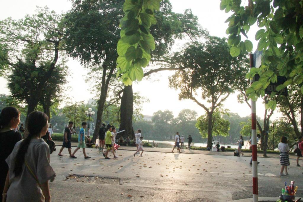 Khu vực đi bộ hồ Hoàn Kiếm sẽ có sự thay đổi