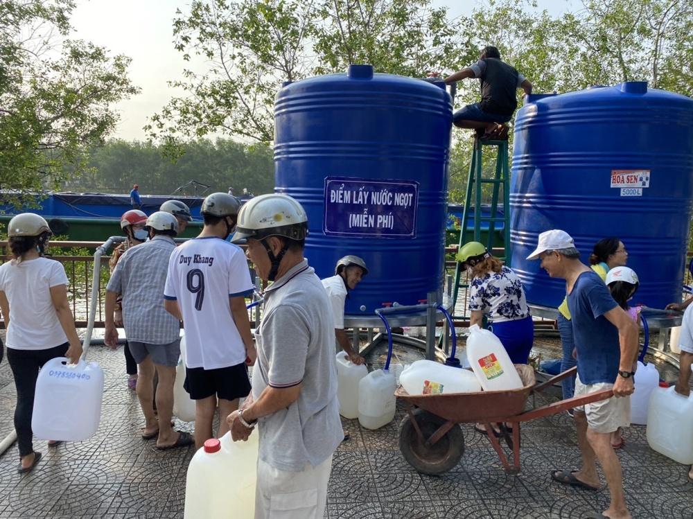 Biwase hỗ trợ 6.000m3 nước sạch cho người dân Bến Tre