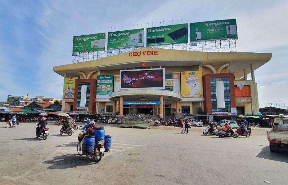 Nghệ An: Hơn 1.000 ki-ốt chợ Vinh đóng cửa tạm ngừng kinh doanh