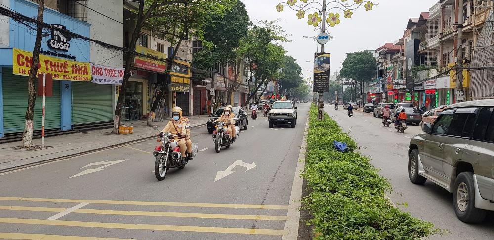 Vĩnh Phúc: Ra quân xử phạt nguội người vi phạm giao thông