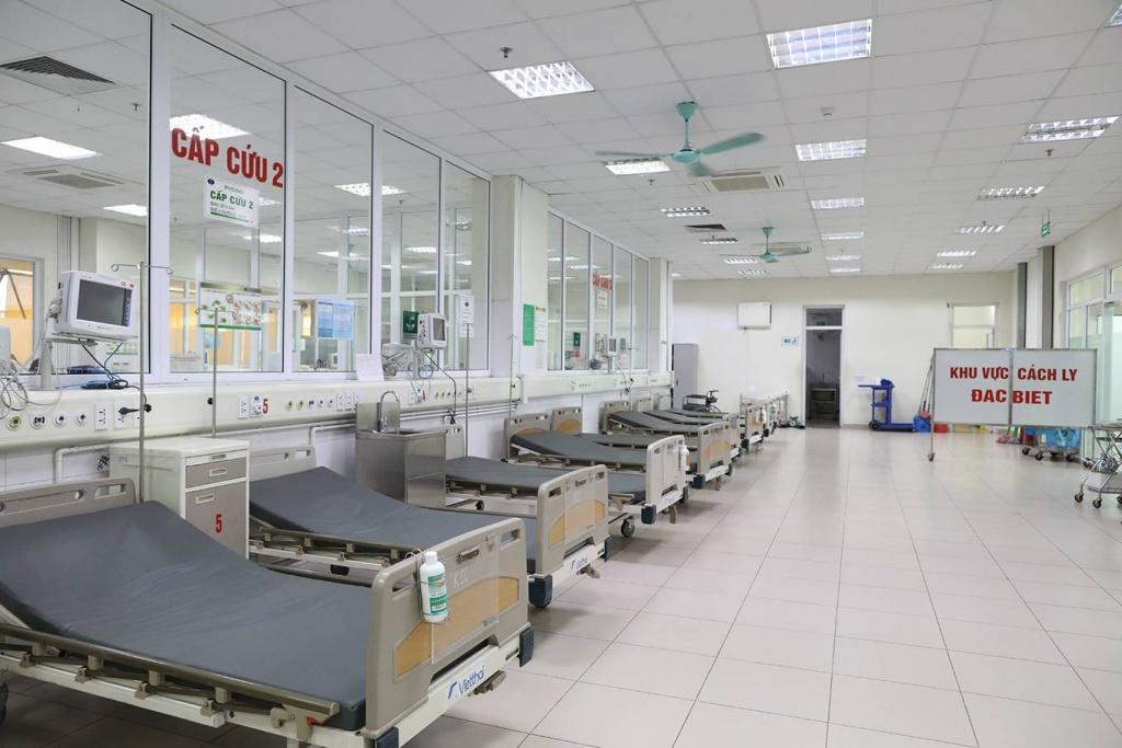 Phòng cách ly đặc biệt điều trị Covid-19