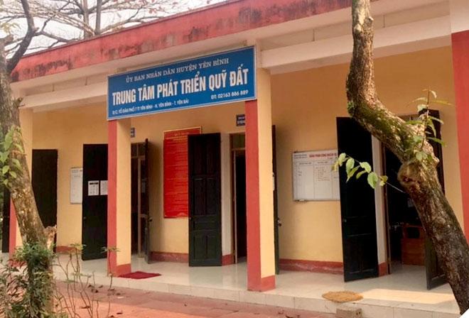 Yên Bái: Khởi tố, bắt tạm giam 3 cán bộ Trung tâm Phát triển quỹ đất huyện Yên Bình