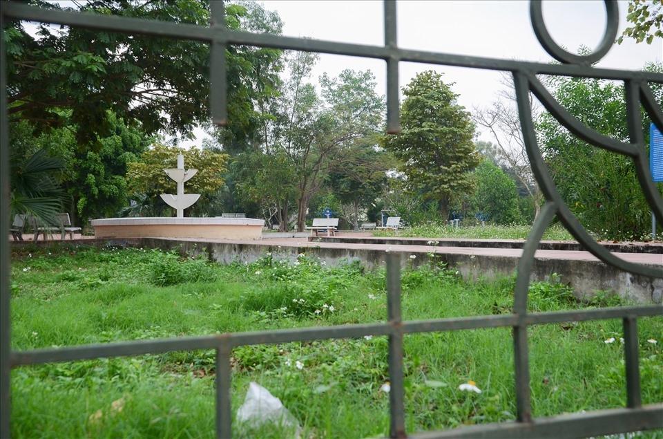 Công viên tiền tỉ hoang lạnh giữa lòng thành phố Điện Biên Phủ