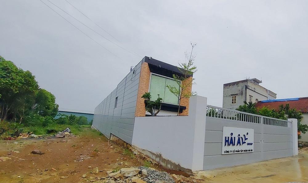 Quốc Oai (Hà Nội): Cần kiểm tra việc xây dựng nhà kho của Công ty Cổ phần Tập đoàn Hải Âu