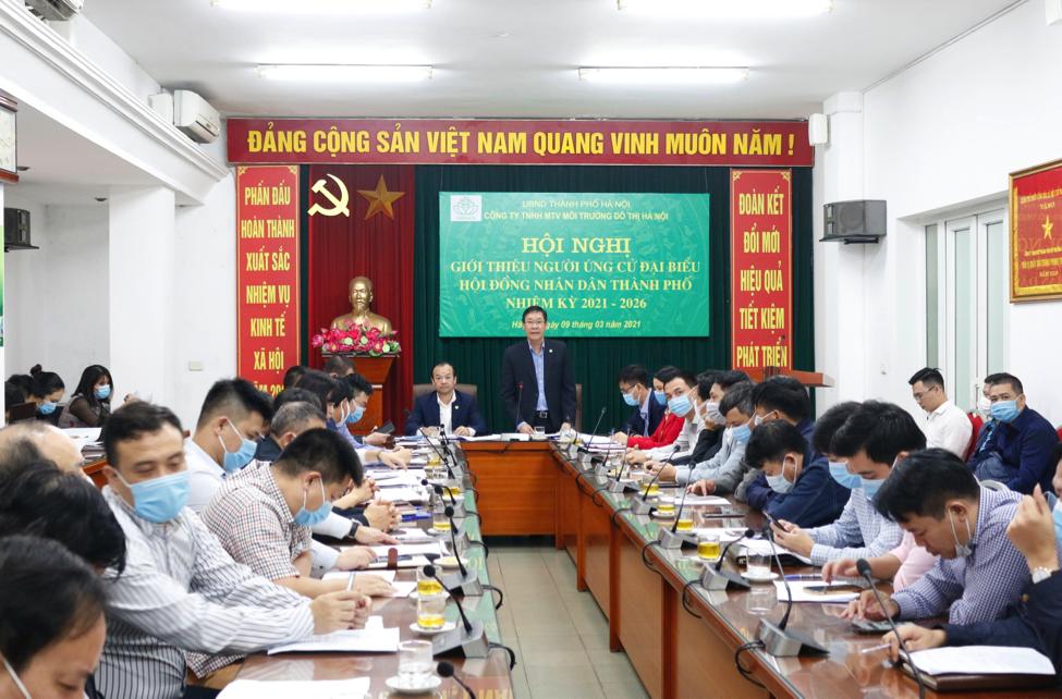 Urenco: Tổ chức thành công Hội nghị giới thiệu người ứng cử HĐND Thành phố Hà Nội