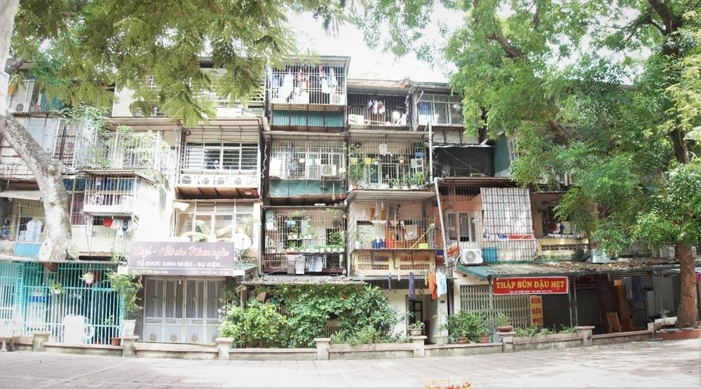 """Hà Nội đưa ra giải pháp cải tạo chung cư hết """"hạn sử dụng"""""""