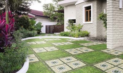 Xu hướng những kiểu gạch lát sân vườn năm 2021