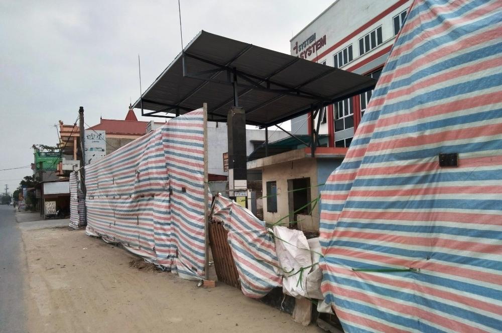 An Dương (Hải Phòng): Cửa hàng xăng dầu cải tạo, sửa chữa không phép trên địa bàn xã Bắc Sơn?