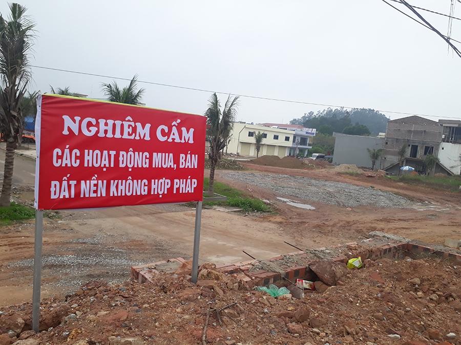 Thái Nguyên: Xử phạt doanh nghiệp tự ý rao bán đất nền trong Khu công nghiệp 40 triệu đồng về hành vi xây dựng không phép