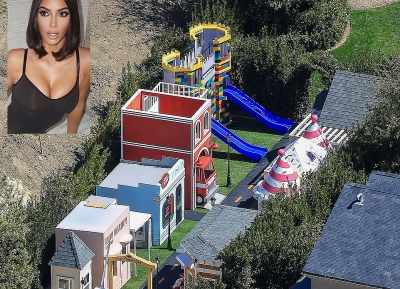 Kim Kardashian xây khu vui chơi