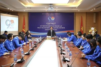 Đoàn thanh niên Bộ Xây dựng tổ chức Hội nghị gặp mặt nhân Kỷ niệm 90 năm thành lập Đoàn thanh niên Cộng sản Hồ Chí Minh