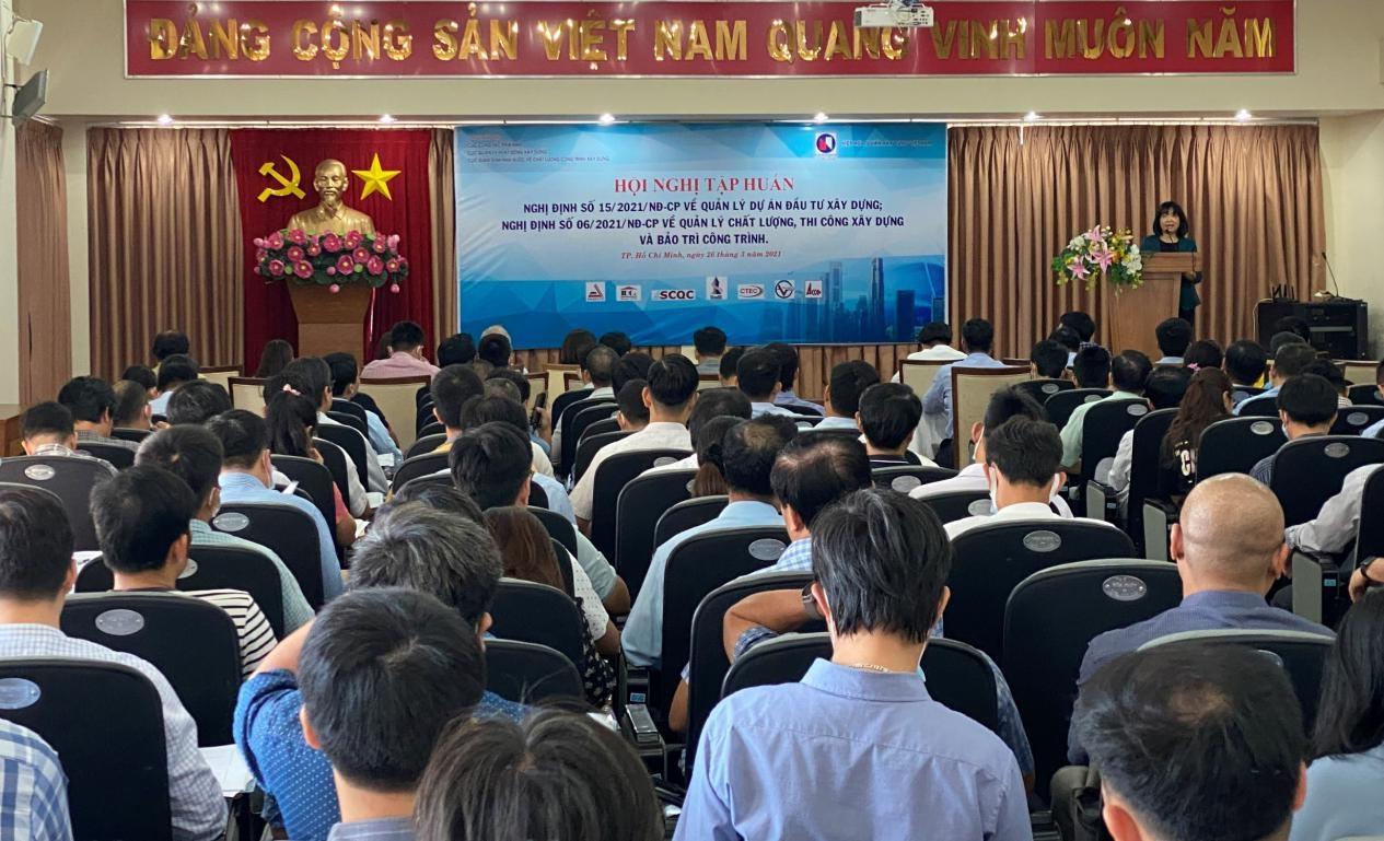 Hiệp hội tư vấn xây dựng tập huấn Nghị định 15/2021 và Nghị định 06/2021 tại Thành phố Hồ Chí Minh