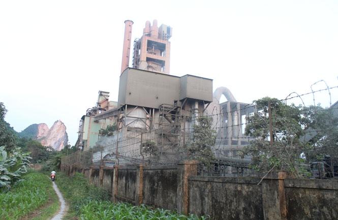 Thái Nguyên: Gây ô nhiễm môi trường, xi măng Quang Sơn bị phạt 80 triệu đồng